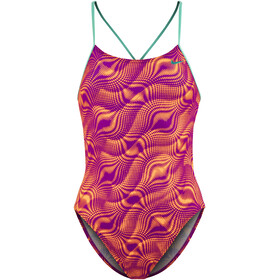 Nike Swim Wave Swimsuit Children purple